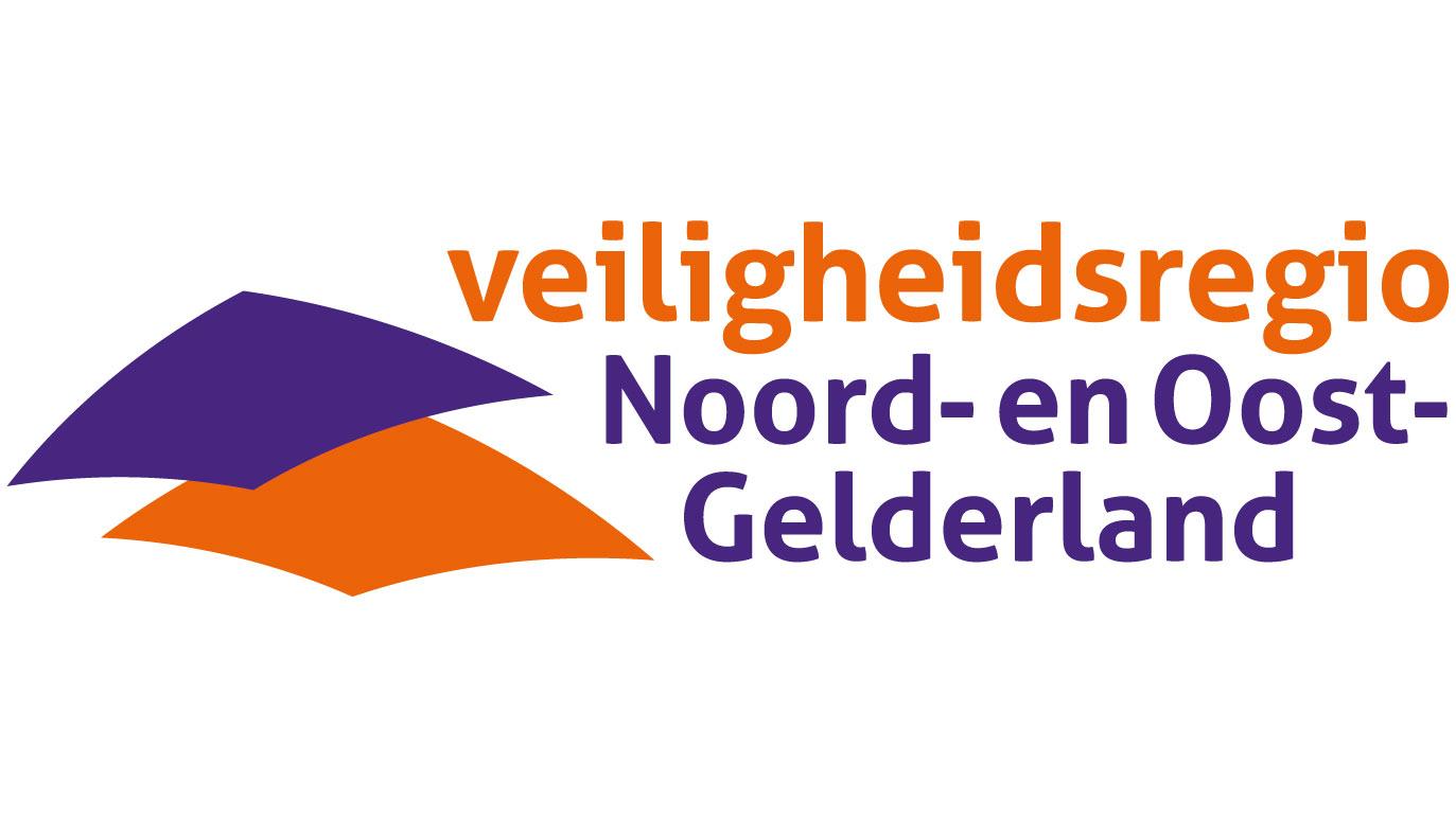 Veiligheidsregio Noord- en Oost- Gelderland logo